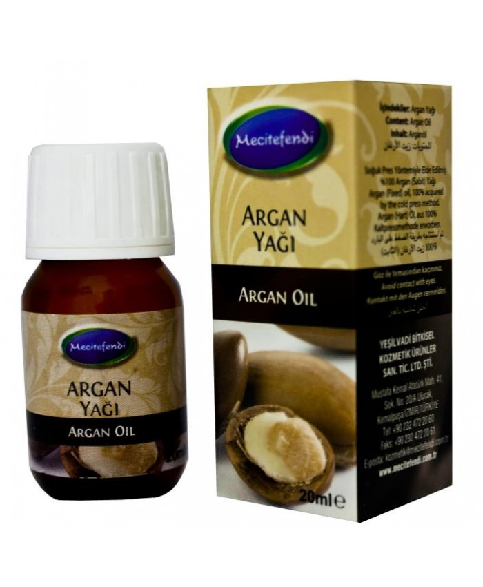 Argan Yağı 20ml Mecitefendi