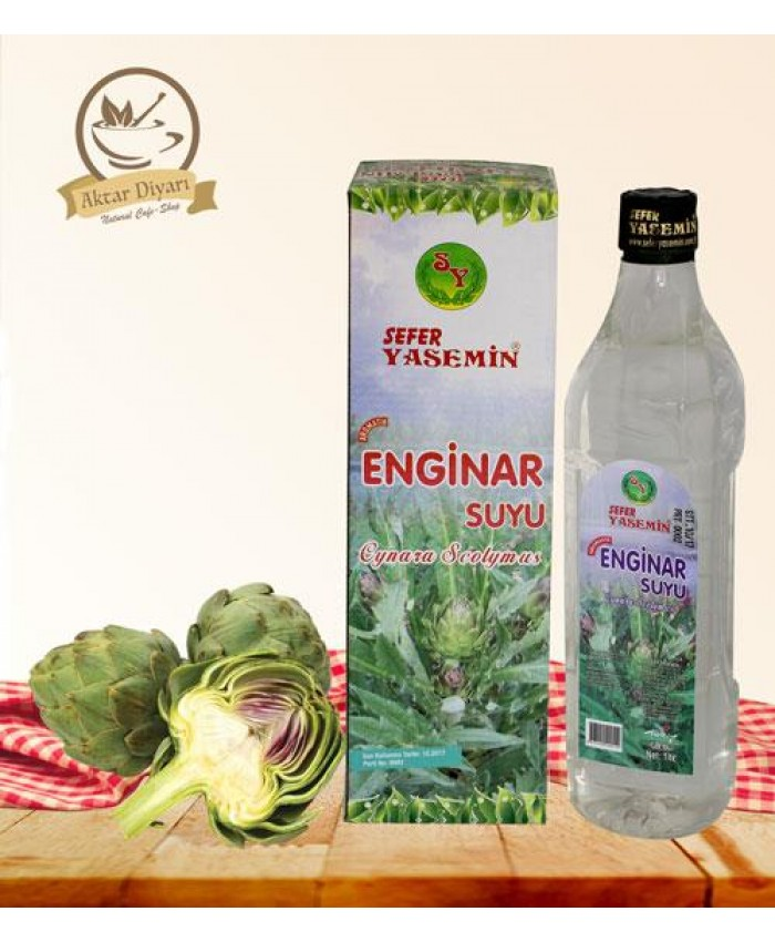 Enginar Suyu 1lt Kutulu  Sefer Yasemin
