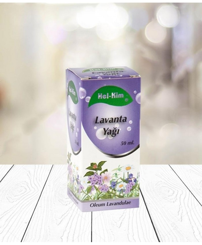 Lavanta Yağı 50 ml Hel-Kim