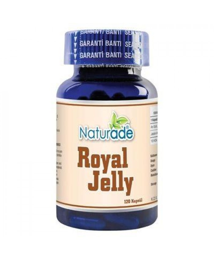 Naturade Arı Sütü 120 Kapsül x 380mg | Royal Jelly
