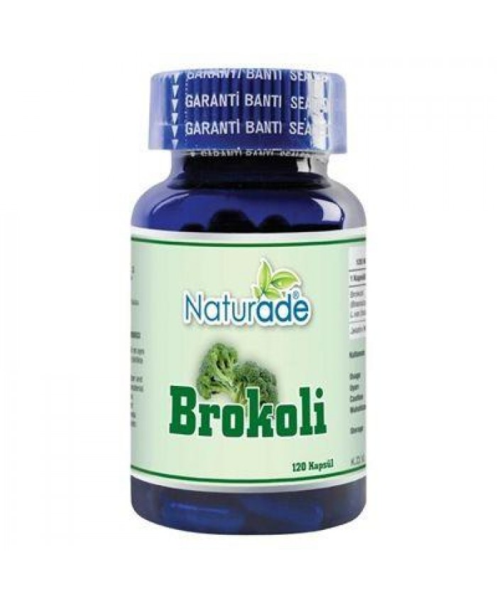 Naturade Brokoli 120 Kapsül x 420mg | Broccoli