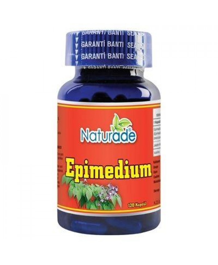Naturade Epimedium Ekstrakt 120 Kapsül 430mg