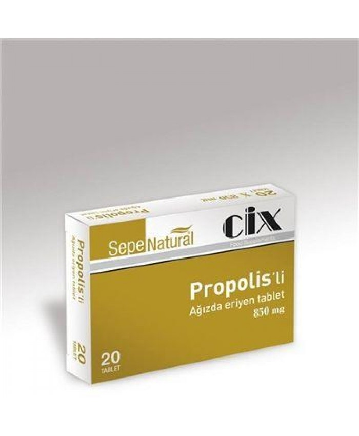 Sepe Natural Ağızda Eriyen Propolis 20 Tablet x 850mg