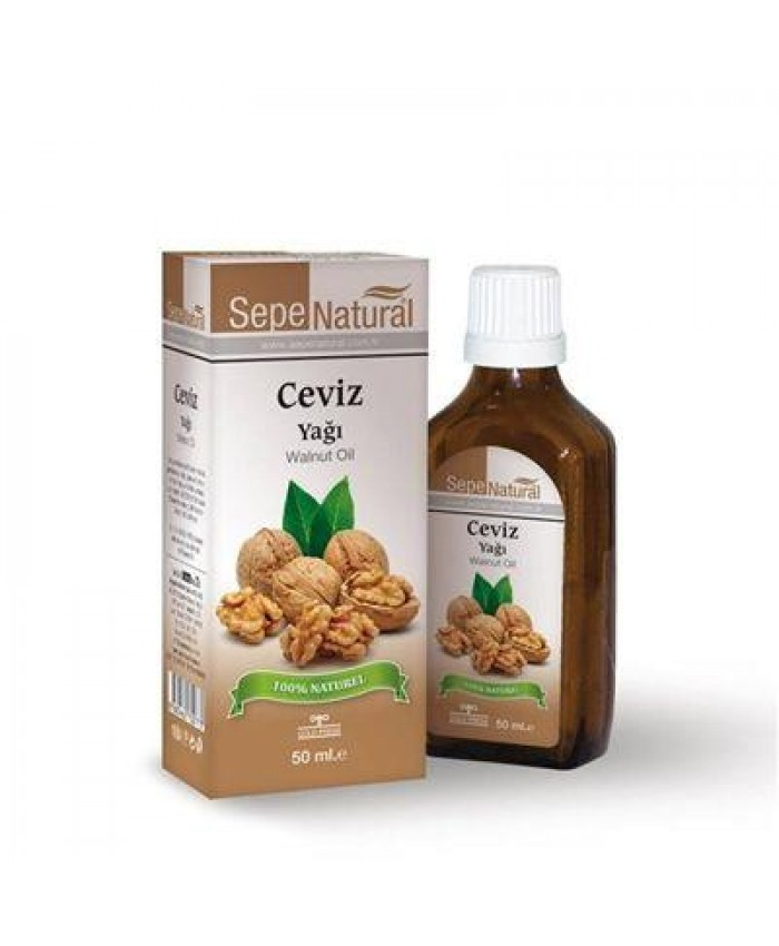 Sepe Natural Ceviz Yağı 50ml | Walnut Oil