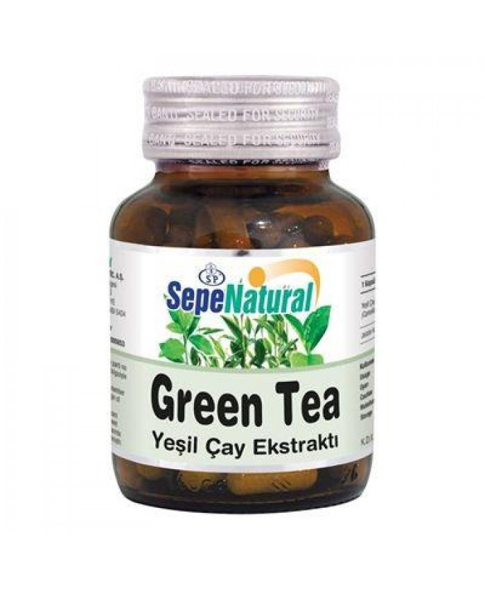 Sepe Natural Green Tea 60 Kapsül x 380mg | Yeşil Çay