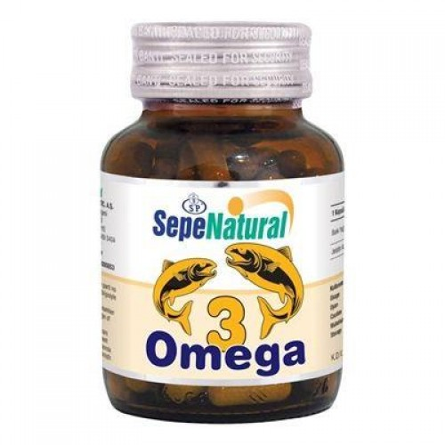 Sepe Natural Omega 3 Powder Balık Yağı 90 Kapsül x 380mg | Fish Oil Po