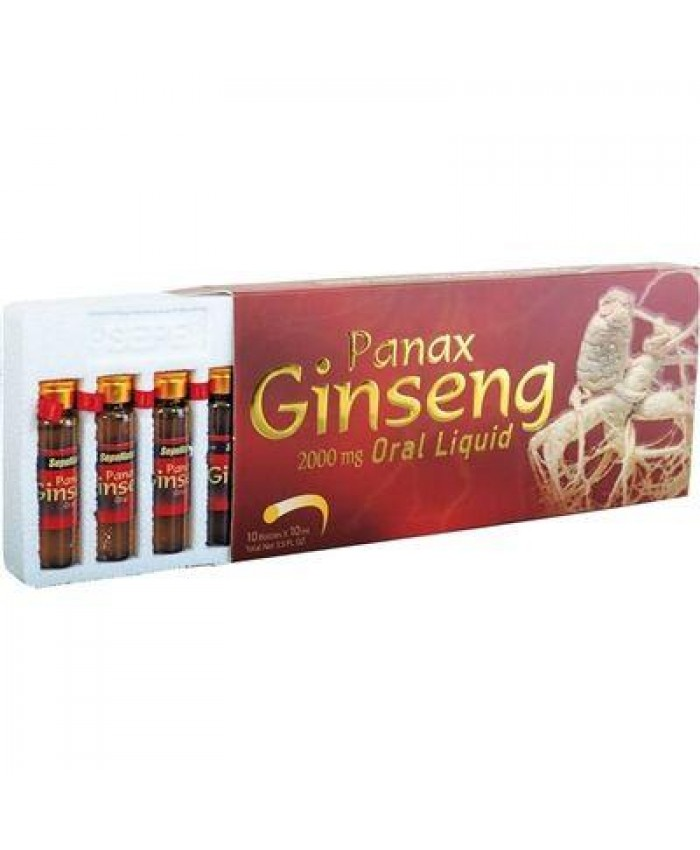 Sepe Natural Panax Ginseng 10ml x 10 Ampul Oral Liquid