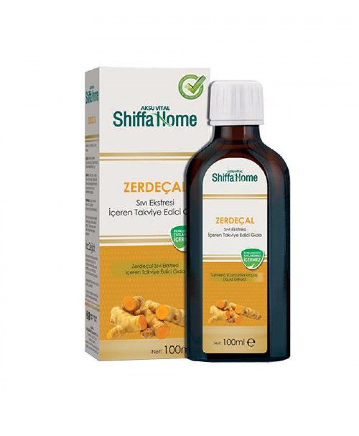 Zerdeçal Sıvı Ekstresi 100 ml Shiffa Home